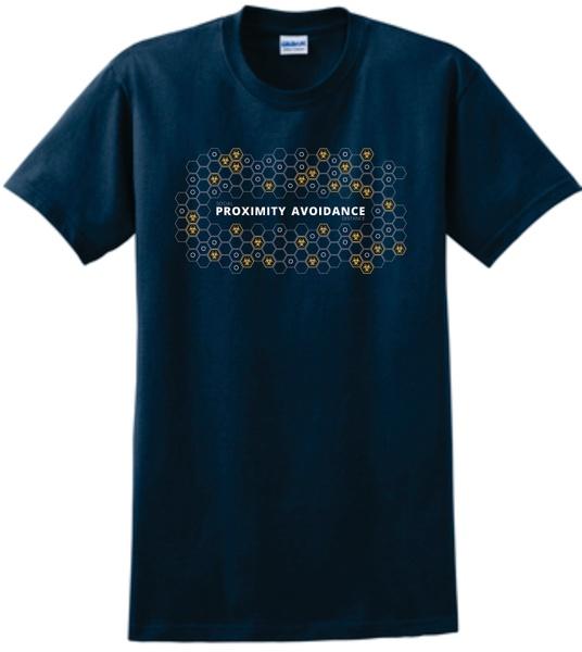 Proximity Avoidance T-Shirts